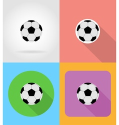 sport flat icons 13 vector image vector image
