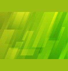 Abstract green geometric diagonal with dots vector