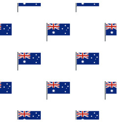 Australian flag pattern seamless vector