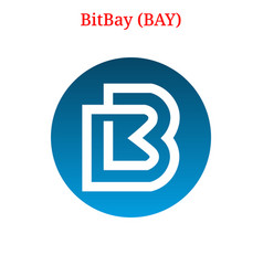 Bitbay bay logo vector