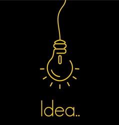 Bulb thin3 vector