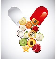 Capsule vitamin vector