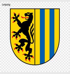 Emblem of leipzig vector