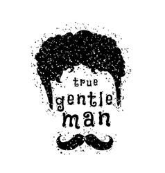 Gentleman style vector