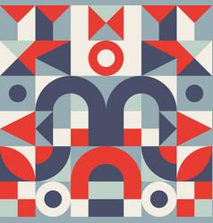 Geometric mosaic decorative background desogn vector