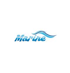 marine-logo vector image