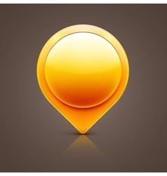 pointer icon vector image vector image