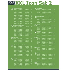 Xxl icon set 2 vector