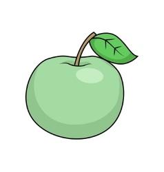 Apple cartoon vector