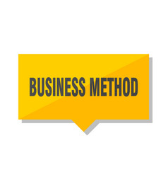 Business method price tag vector
