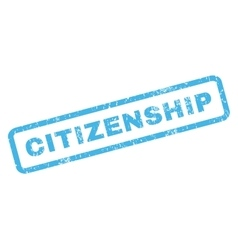 Citizenship Rubber Stamp vector
