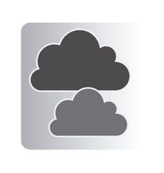 cound data network icon vector image