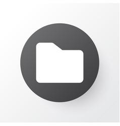 Folder icon symbol premium quality isolated vector