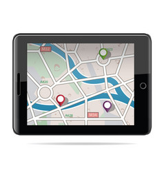 Global positioning system navigation gps navigat vector