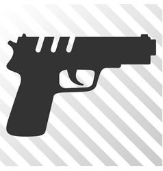 pistol gun eps icon vector image