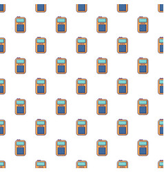 Portable radio pattern seamless vector