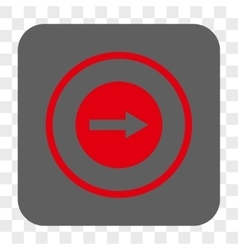 Right Rounded Arrow Rounded Square Button vector