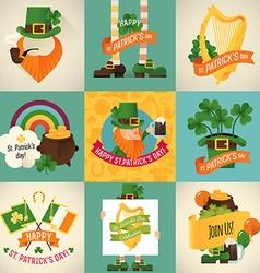 St Patricks Icon Set vector