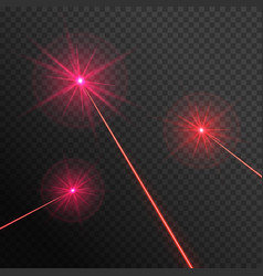 Three laser beams vector
