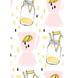 hand drawn abstract creative funny summer vector image vector image