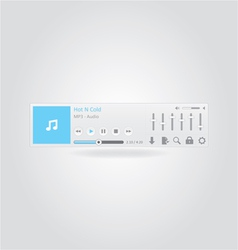 Music Player 2 vector image