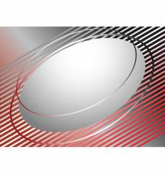 Abstract background with oval vector