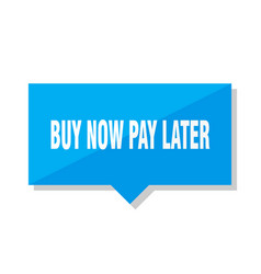 Buy now pay later price tag vector