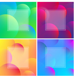 colorful spectrum backgrounds with abstract vector image
