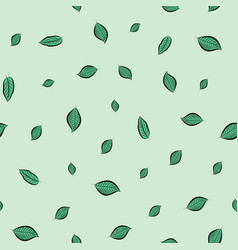 Falling leaves repeat pattern perfect vector