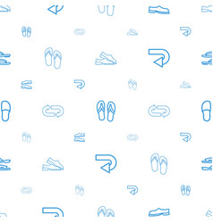 Flip icons pattern seamless white background vector