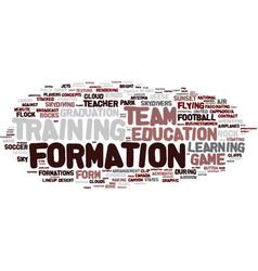 Formula word cloud concept vector