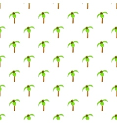 Palma pattern cartoon style vector