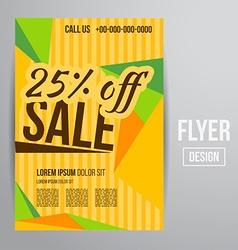 Sale flyer vector