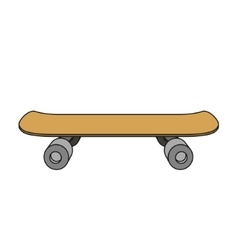 Skateboard cartoon vector