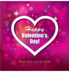 The Valentine s Day vector image