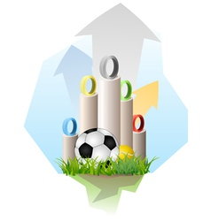 Olympic game background vector image vector image