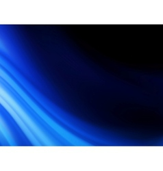 Blue smooth twist light lines background EPS 10 vector image vector image