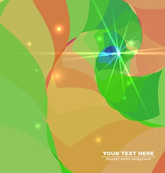 Abstract Colorful Spiral Tunnel Background vector image vector image