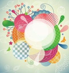 Abstract Modern Frame vector image