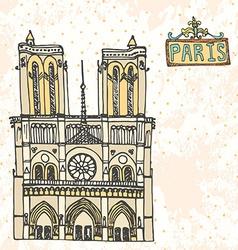 Paris12 vector image