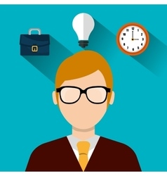 Project management and business vector image