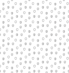 Security guard seamless pattern vector image