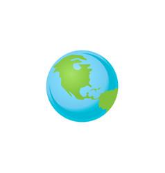 Solar system planet earth vector