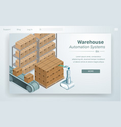 Warehouse automation system vector