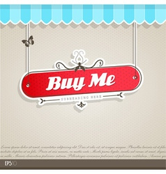 Vintage background with place for your text vector image