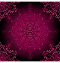 elegance vintage pattern vector image vector image