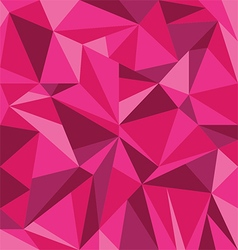 Abstract Pink Triangle Geometrical Background vector
