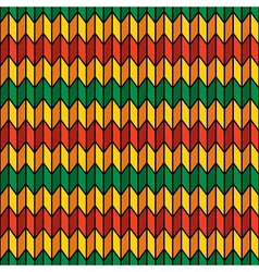 Background seamless pattern in rasta colors vector