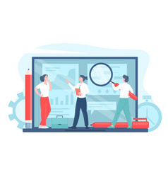 Business process automation vector