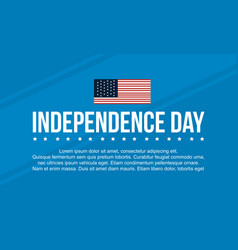 Happy independence day background vctor art vector
